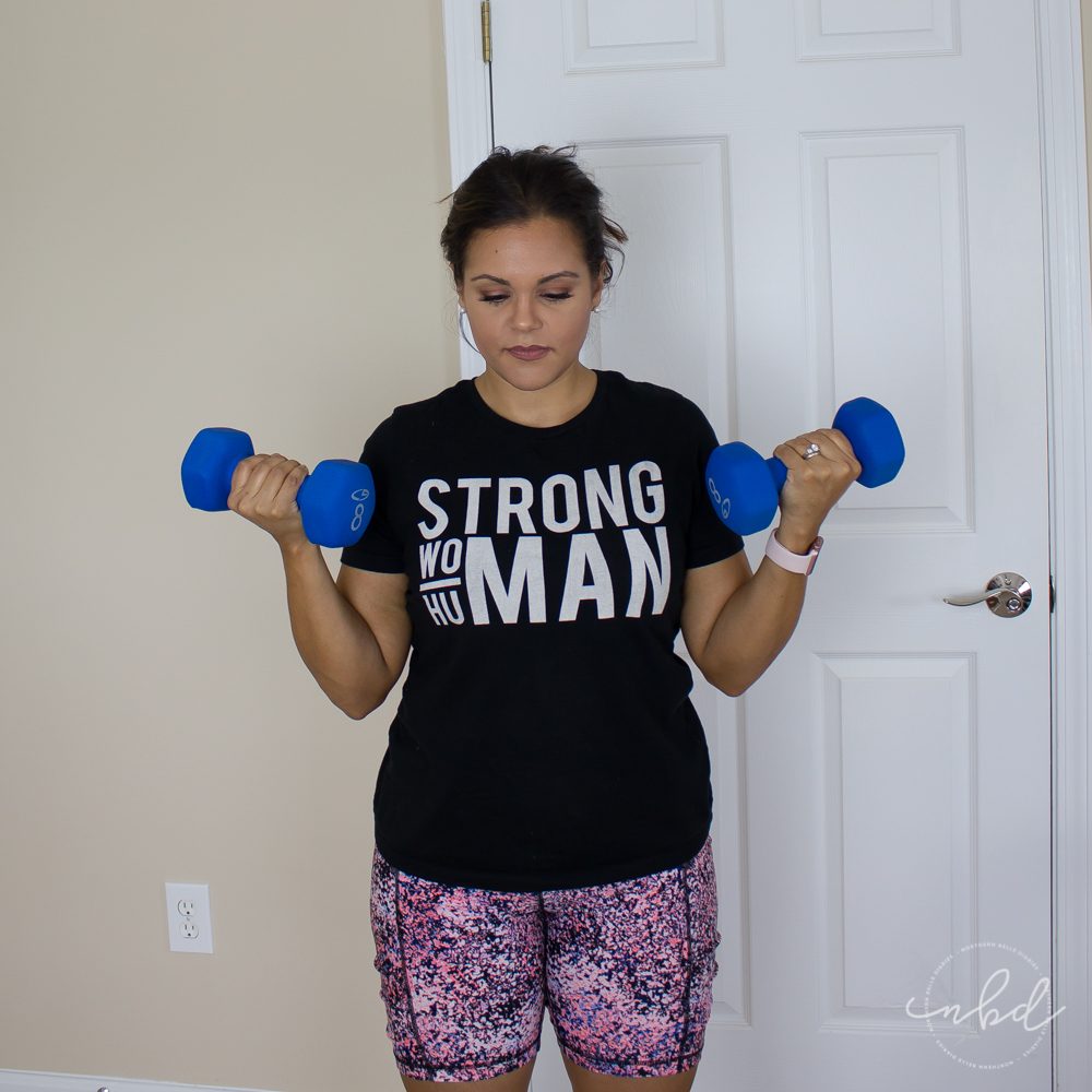 Upper Body Exercises for Strong and Sexy Arms & Shoulders   Dumbbell Bicep Curls