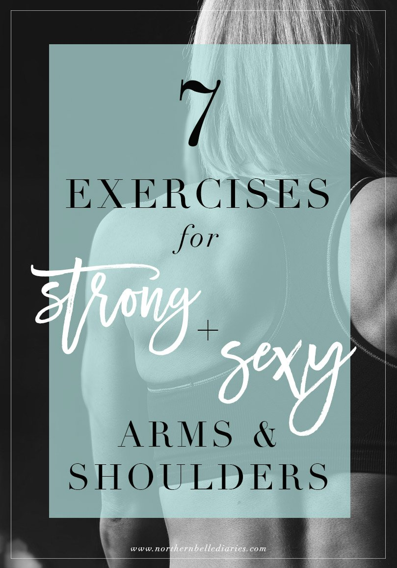 Upper Body Exercises for Strong and Sexy Arms & Shoulders #Ownit |