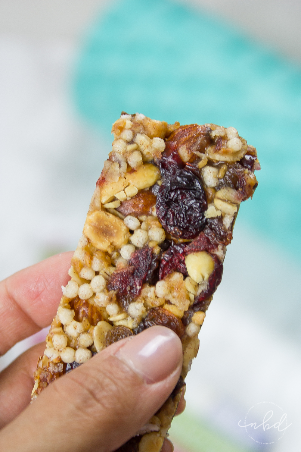 Upper Body Exercises for Strong and Sexy Arms & Shoulders   Special K Nourish Chewy Nut Bars Cranberry Almond close-up