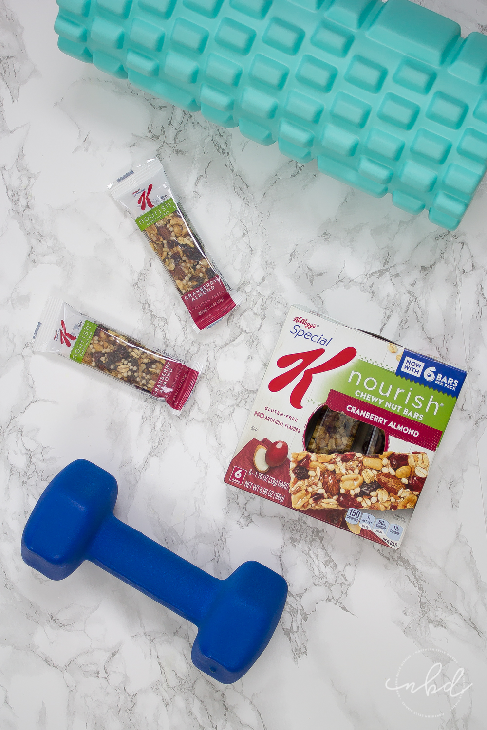 Upper Body Exercises for Strong and Sexy Arms & Shoulders | Special K Nourish Chewy Nut Bars Cranberry Almond