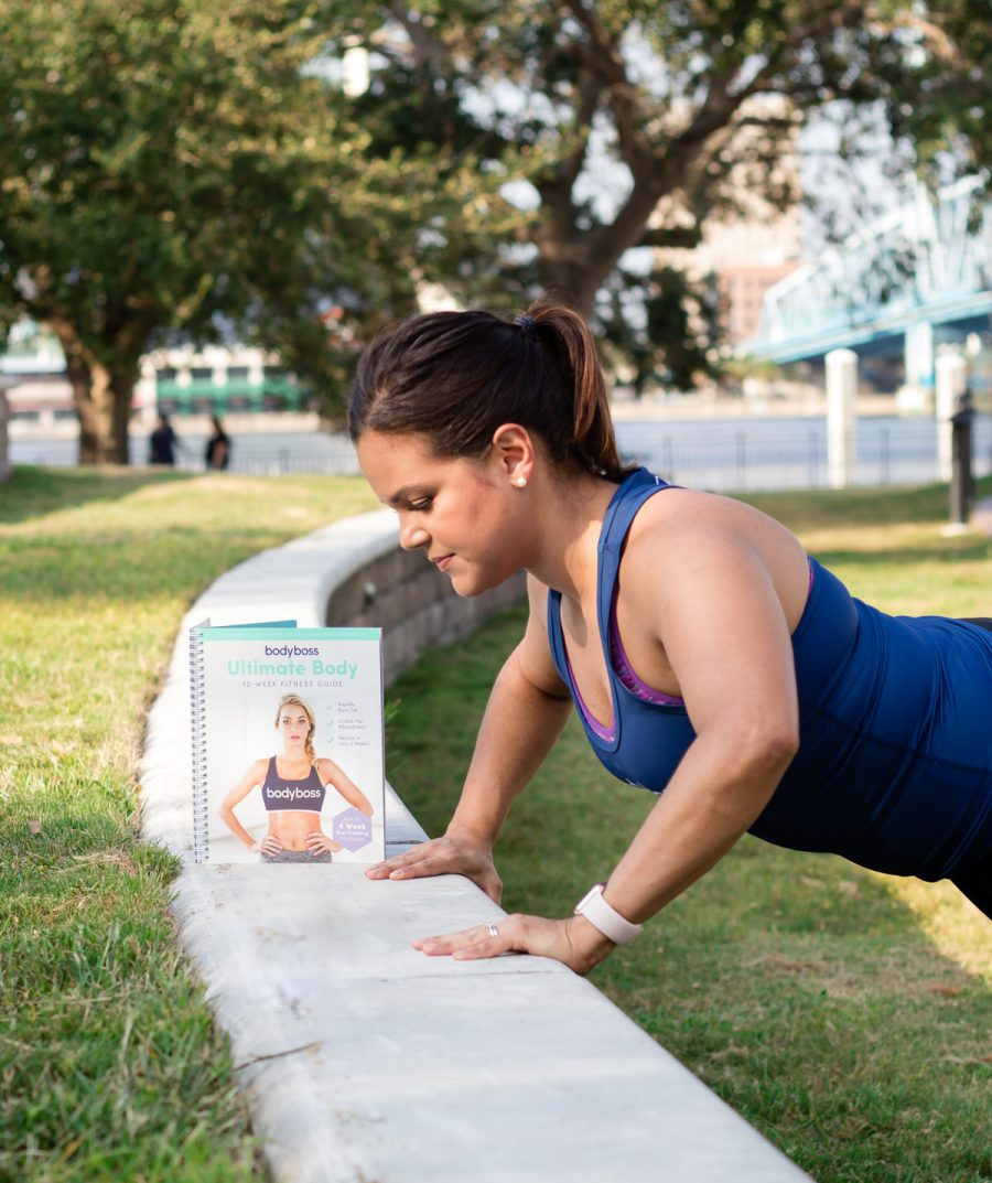 BodyBoss Fitness Guide Review | Incline Push-ups
