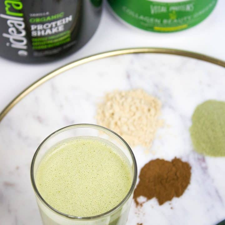 Protein Smoothie for Healthy Skin, Hair and Nails