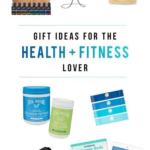 Gift Guide for the Health and Fitness Lover