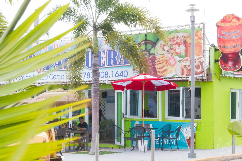 street in La Parguera Puerto Rico