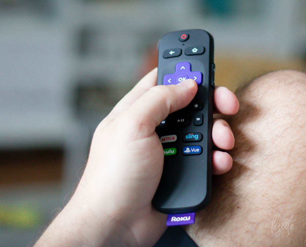 Gift Ideas for Men That Have Everything | La La Lisette - BabbleBoxx - Roku Stick remote