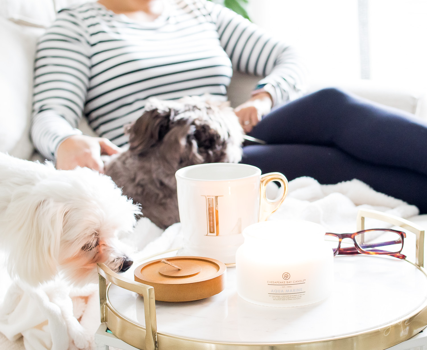 Chesapeake Bay Candle | The Heritage Collection | Practicying hygge with candles