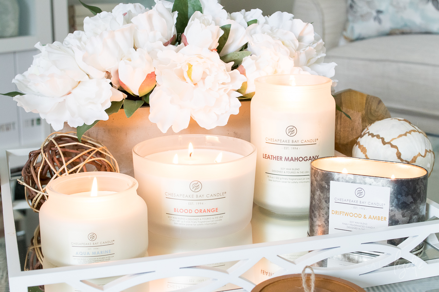 Chesapeake Bay Candle | The Heritage Collection has relaxing scents that transport you to the shores of the beloved Chesapeake Bay