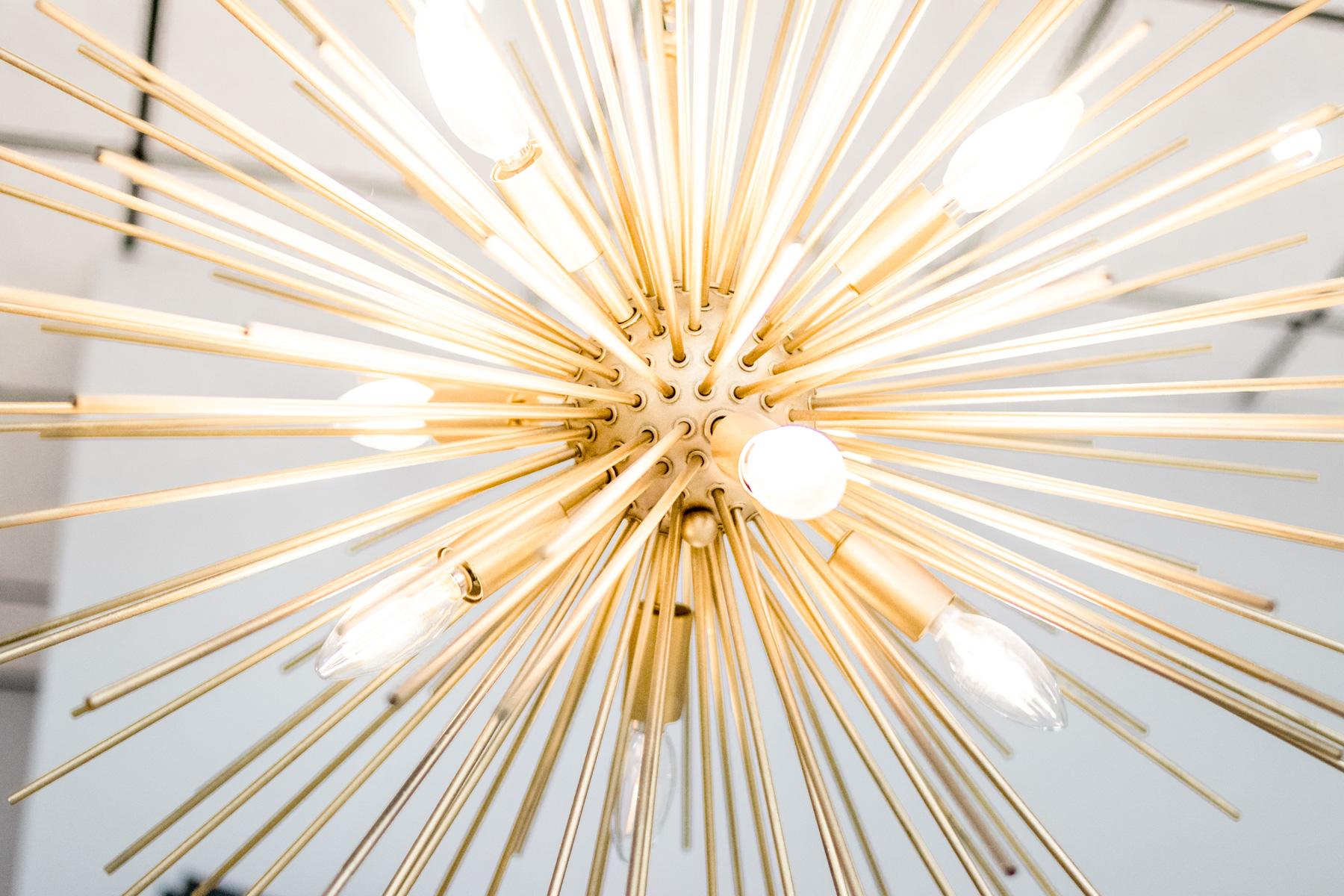 starburst chandelier | LASH Jax