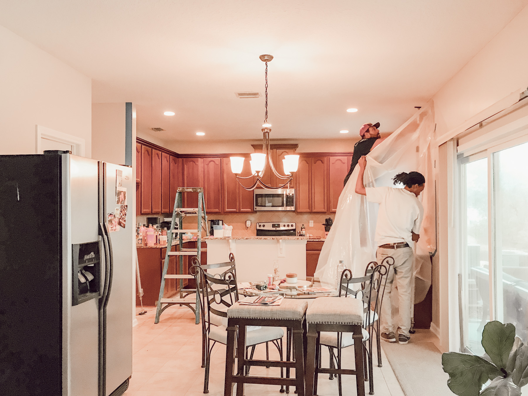 sealing-off-kitchen-servpro-jacksonville