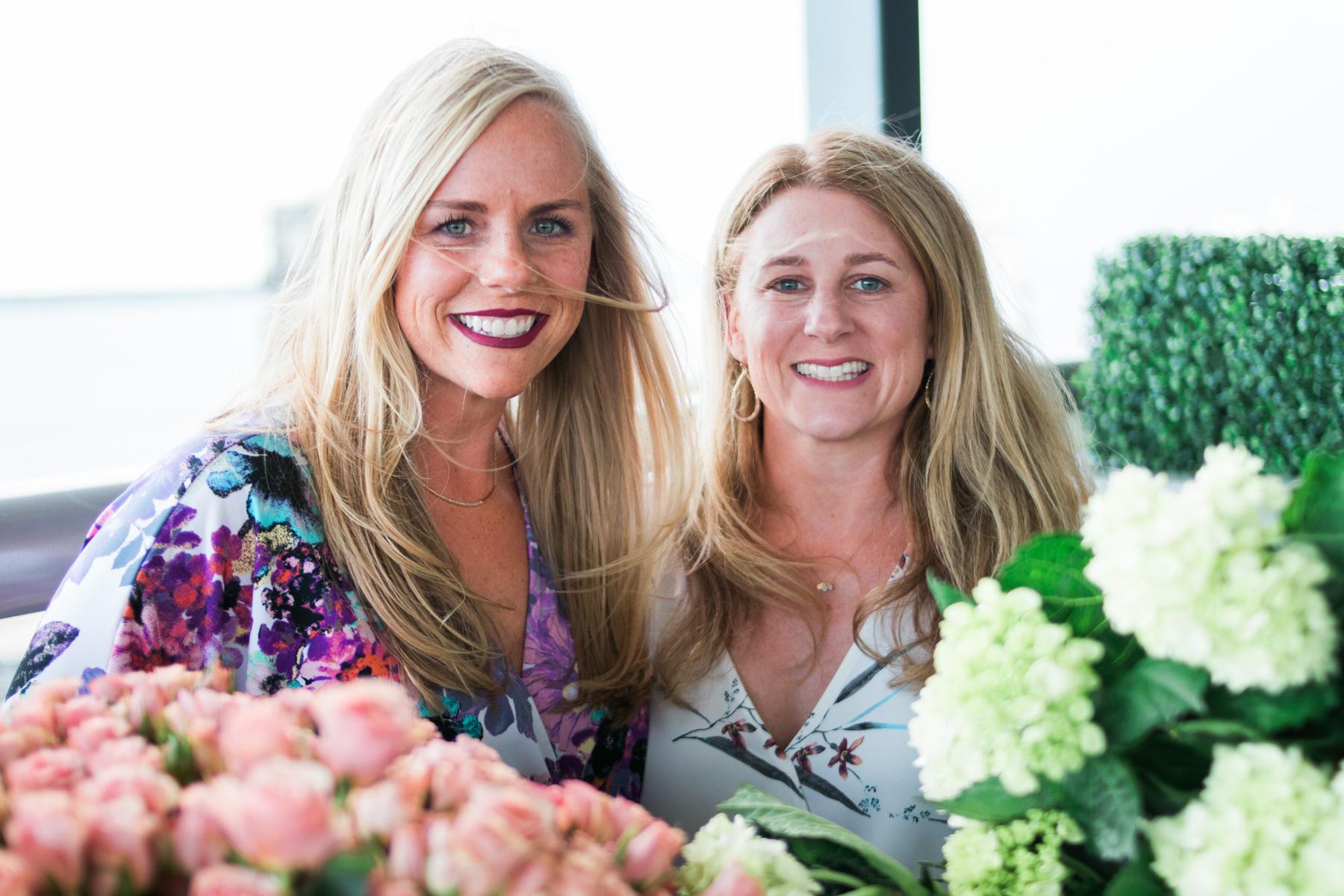 Megan Kilis and Vicky Lane, bloggers at Jacksonville Moms Blog