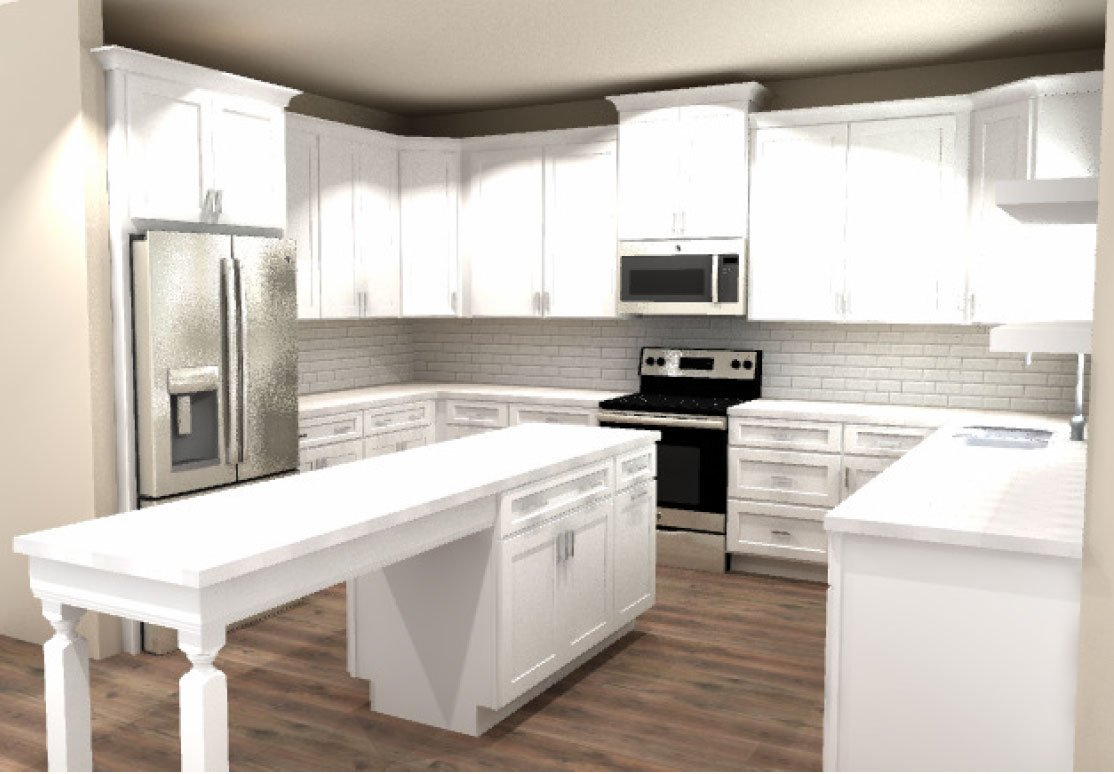 Kitchen mock-up CliqStudios