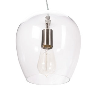 8 inch glass pendant by allen + roth at Lowe's