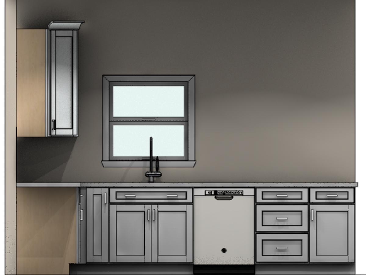 revised kitchen cabinet mockup window CliqStudios