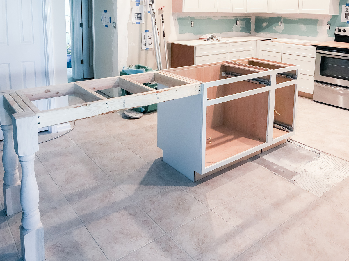 kitchen-island-table-installed-front-view