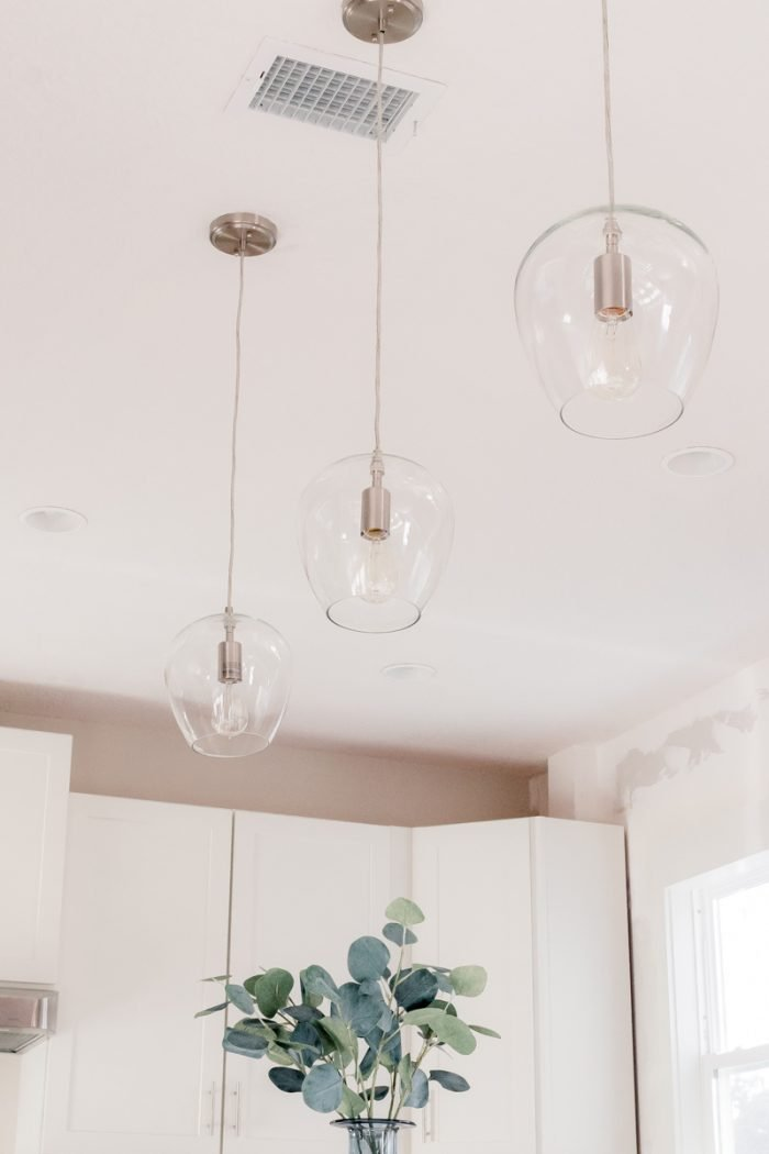 Tips for Choosing + Installing Kitchen Pendant Lights