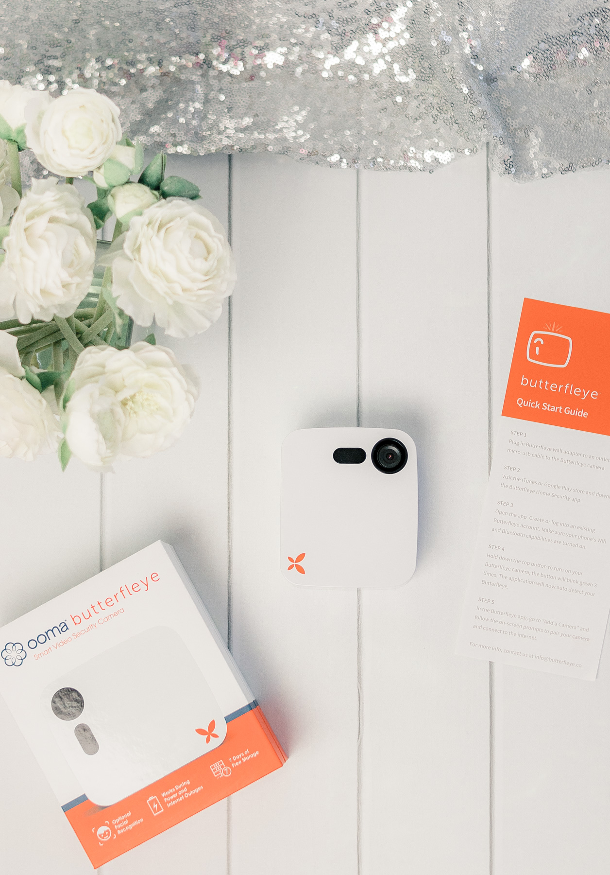 Ever wish you can keep an eye on your home while you're away? #ad The Ooma Butterfleye security camera allows me to make sure my home was secure. Read more about the features of this camera for a chance to win one for your home! #OomaButterfleye