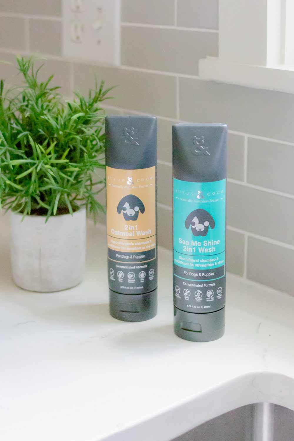 Safer Grooming Products for your Pups by Rufus & Coco