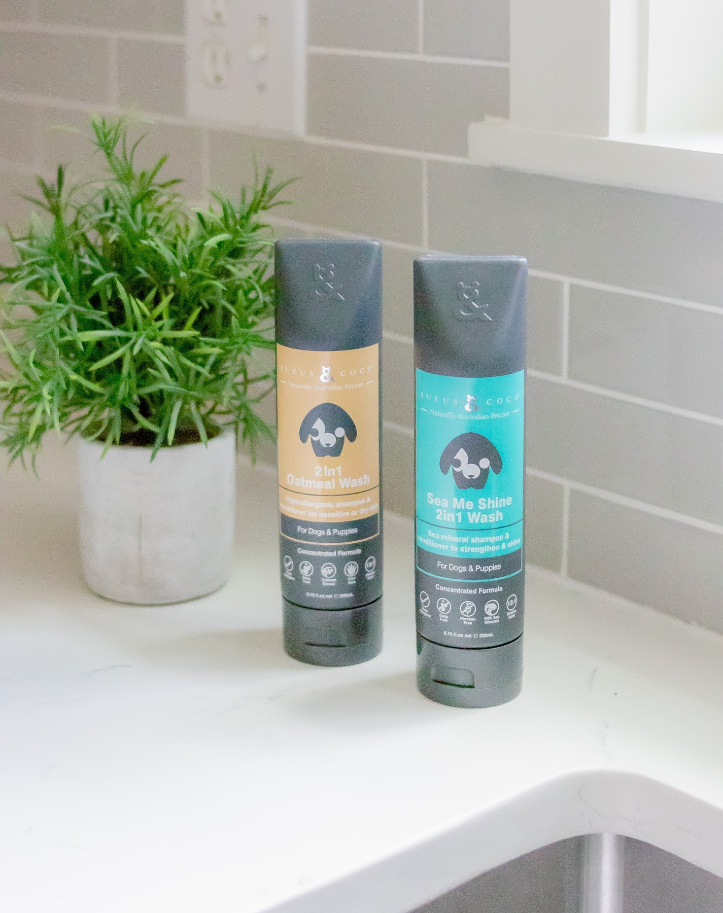 "Rufus & Coco ""Sea Me Shine"" and ""2in1 Oatmeal Wash"""