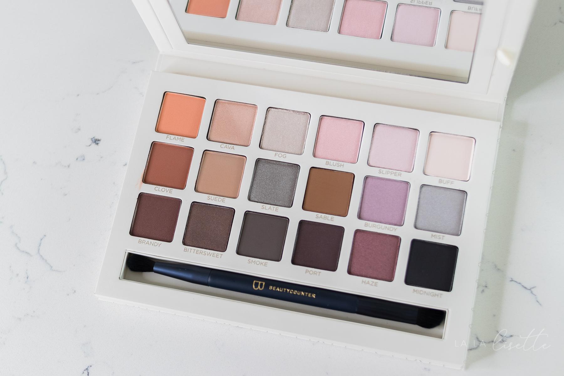 Beautycounter Necessary Nudes Eyeshadow Pallette | Lisette Harrington - Jacksonville FL consultant