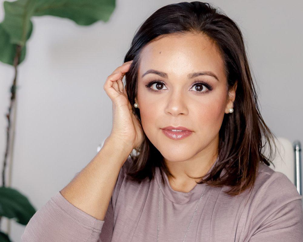 Beautycounter Mauve Eye Look | La La Lisette