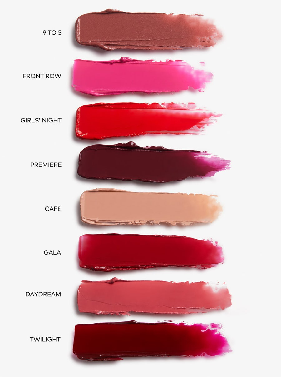 Beautycounter Mini Color Intense Lipstick Vault swatches