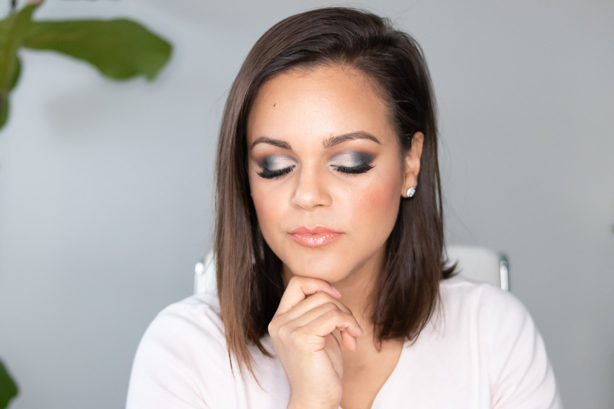 cut crease using Beautycounter eyeshadows