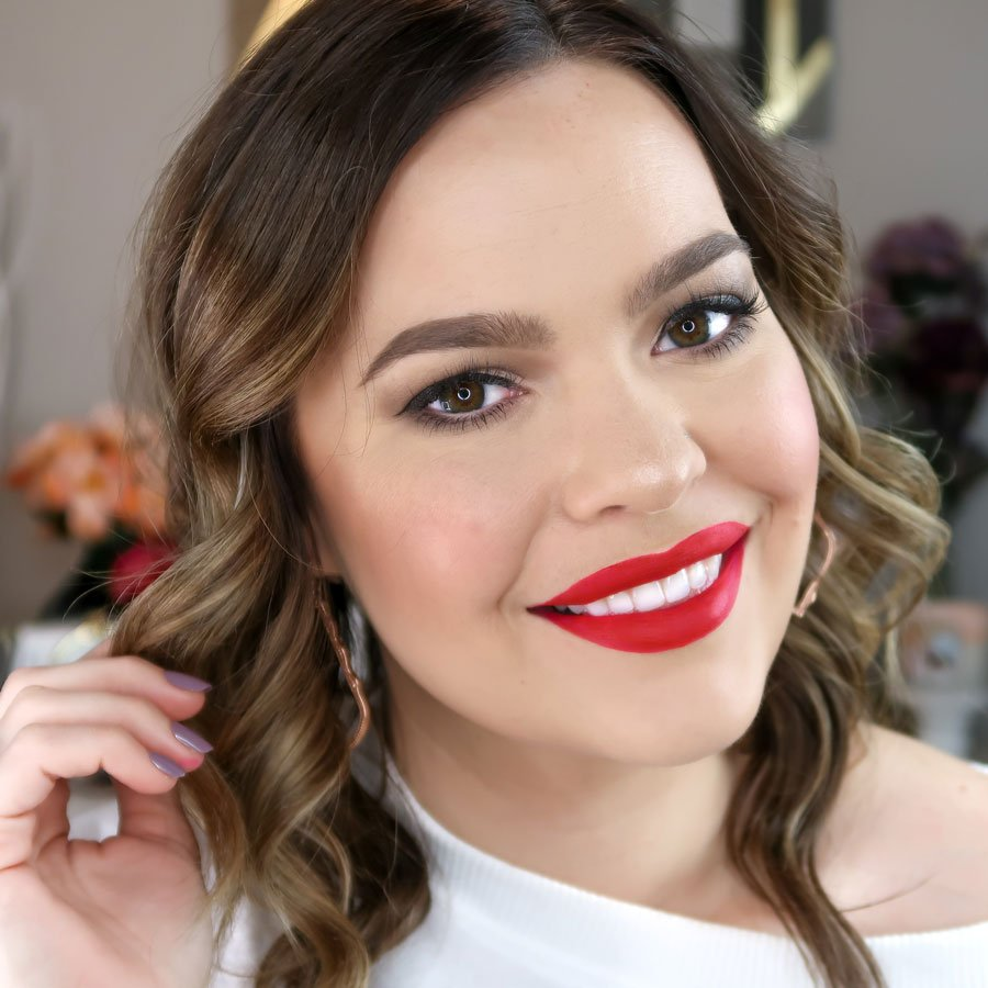Easy Glam Holiday Look by Kelsie Kristine