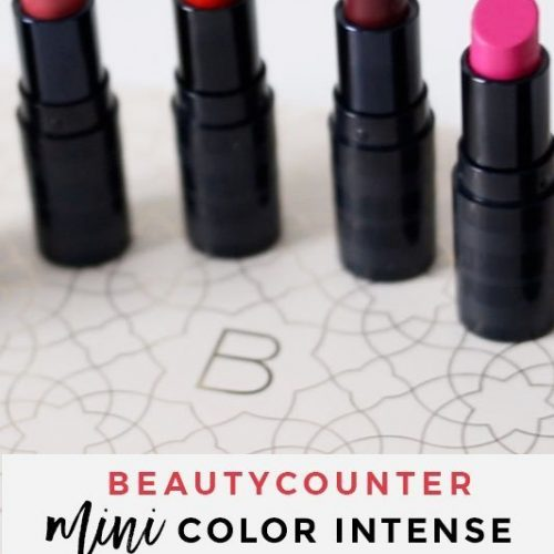 Beautycounter Mini Color Intense Lipstick Vault #saferbeauty #beautycounter #makeup #lipstick
