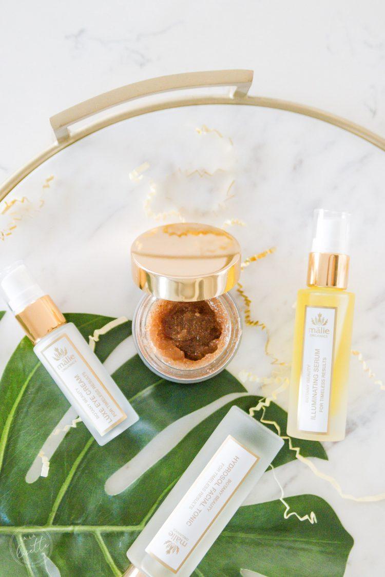 Malie Organics Botany Beauty Review #cleanbeauty #organicskincare #cleanskincare #nontoxicbeauty