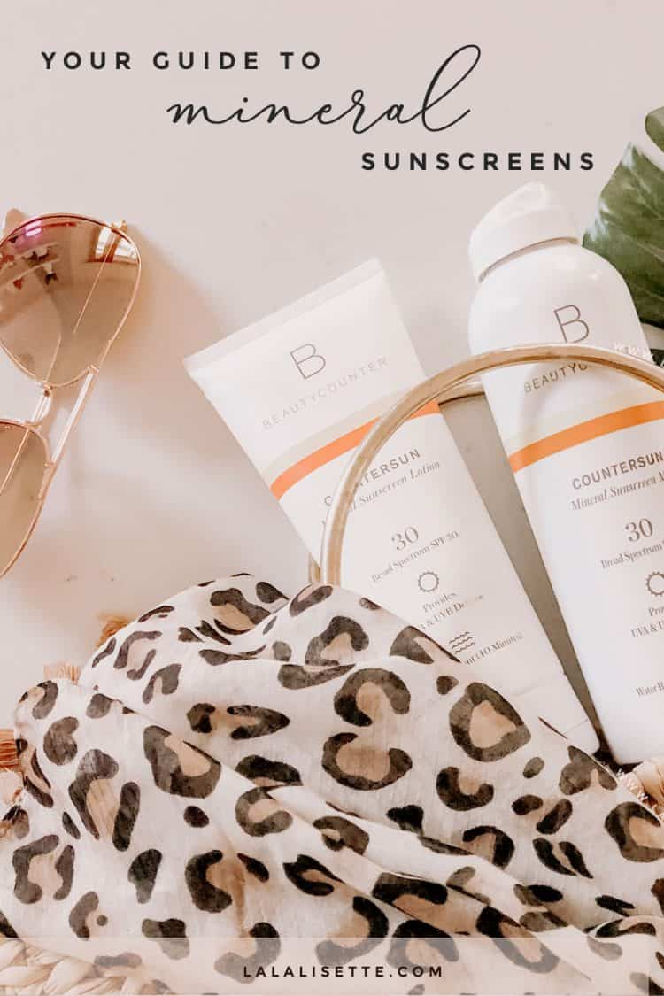 The importance of mineral sunscreen, especially those made from non-nano zinc oxide, and why it's a safer sunscreen for your health and that of the environment.