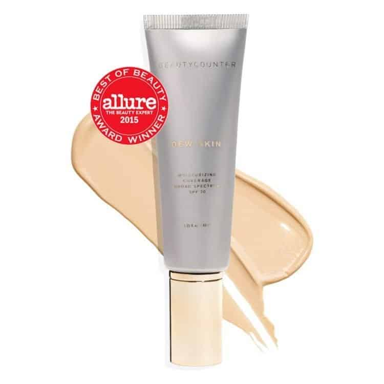 Beautycounter Dew Skin tinted mineral sunscreen