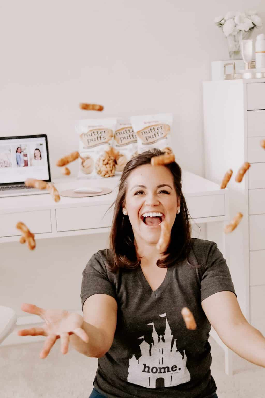 nutter puffs falling down on blogger