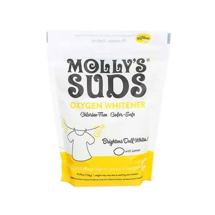 Molly's Suds concentrated safer oxy laundry booster