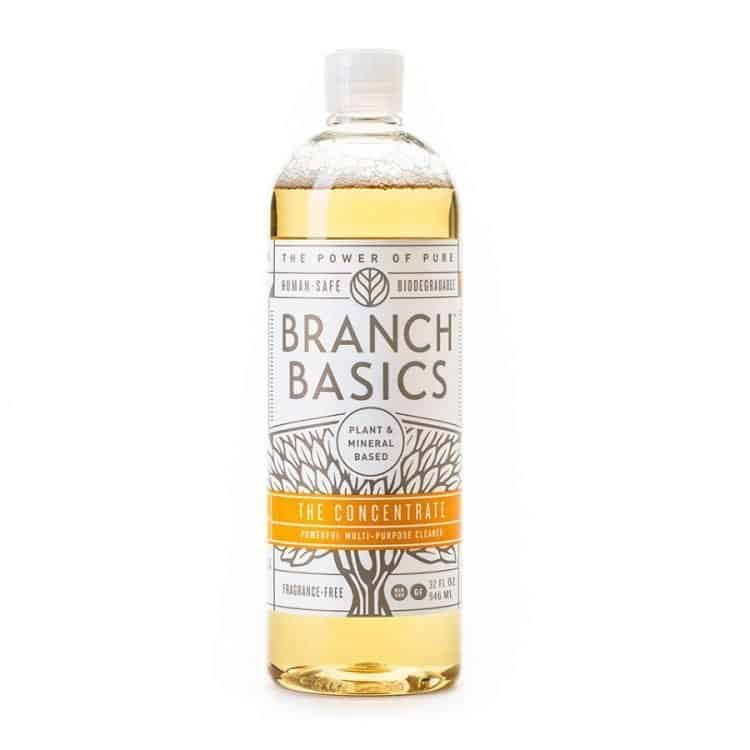 branch basics concentrated safer cleaning detergent