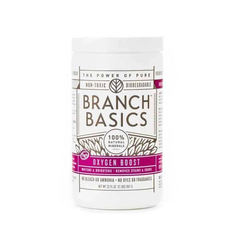 branch basics concentrated safer oxy laundry booster