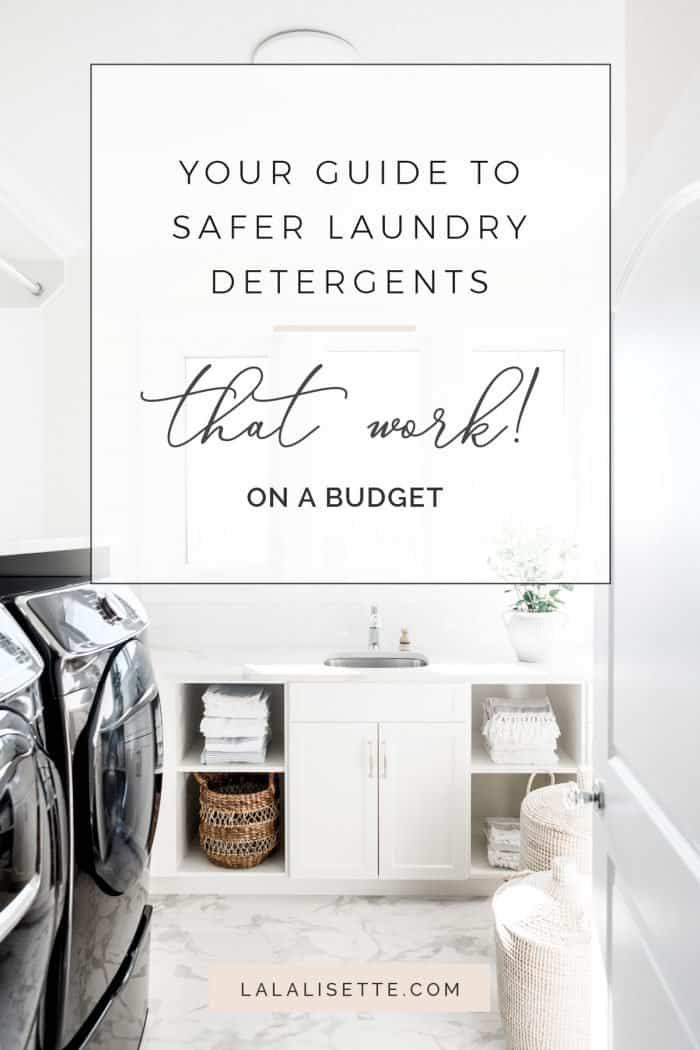 Your Guide to Safer Laundry Detergents That Work