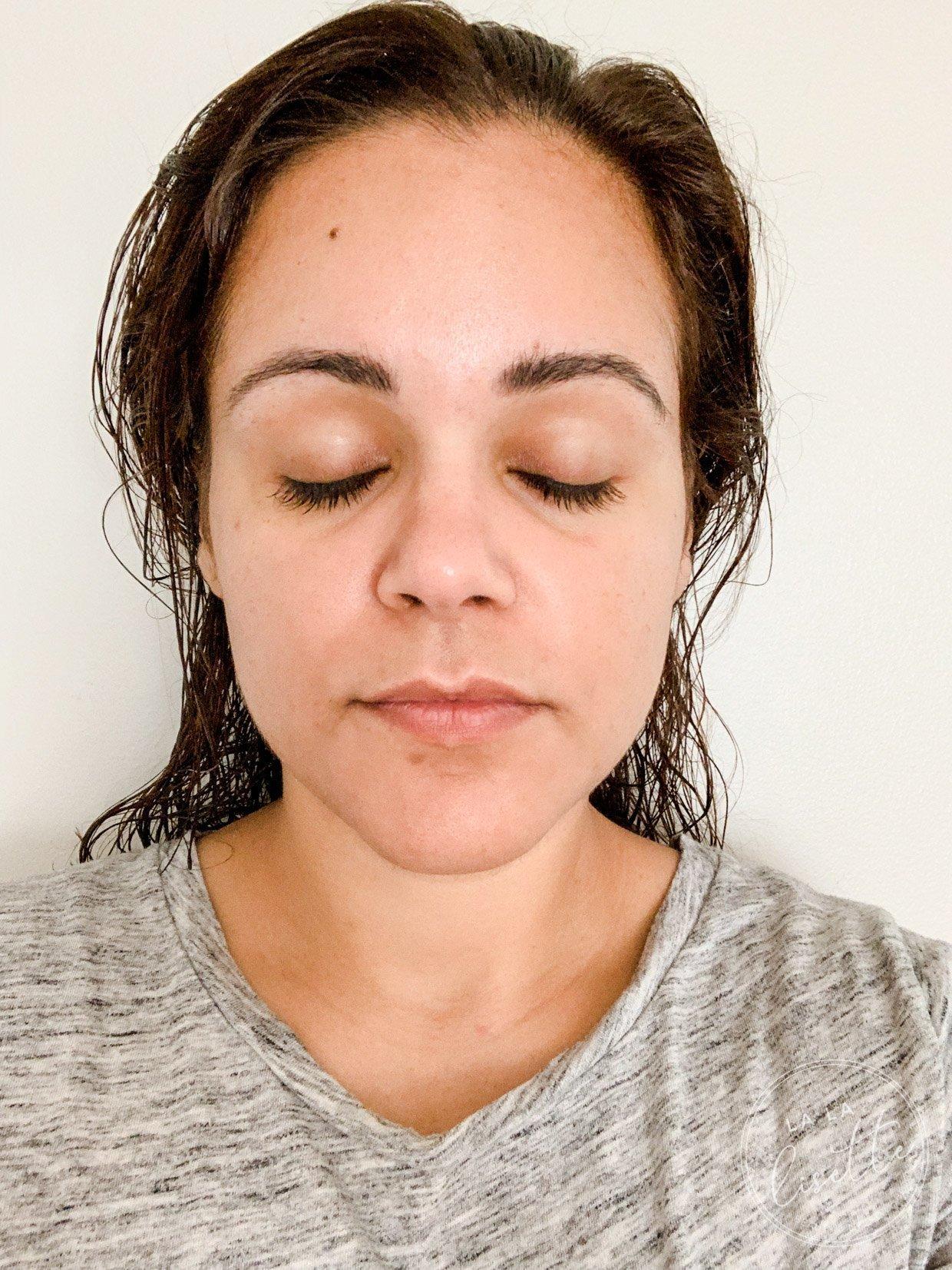 skin before Beautycounter Countertime