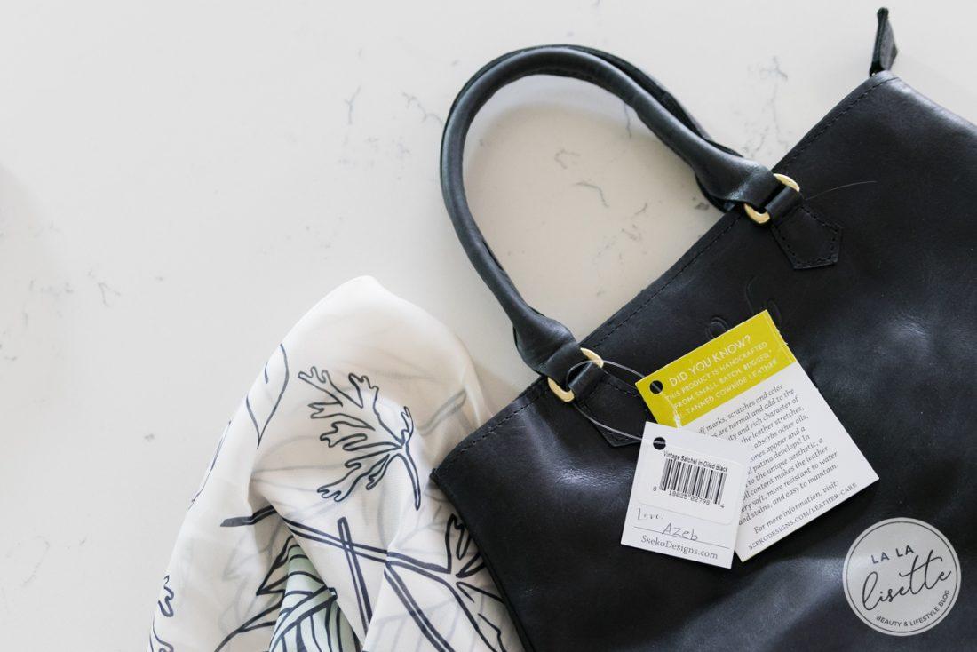 Sseko handbag with tags