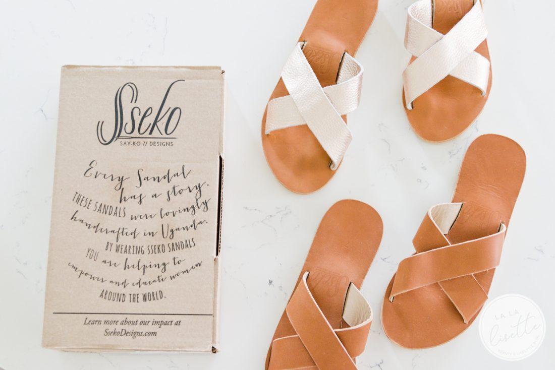 Sseko crossover sandals