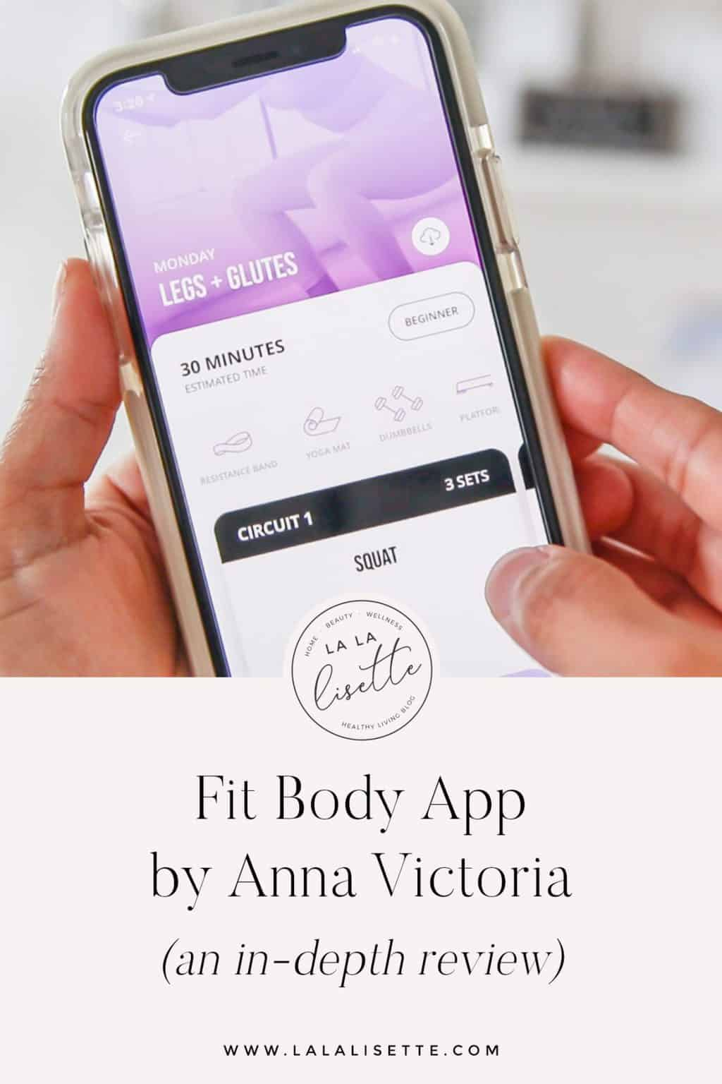 Fit Body App by Anna Victoria review