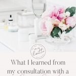 What I learned from my consultation with a clean beauty esthetician