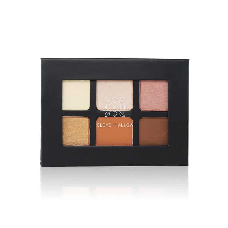 clean eyeshadow palette clove and hallow sunrise palette