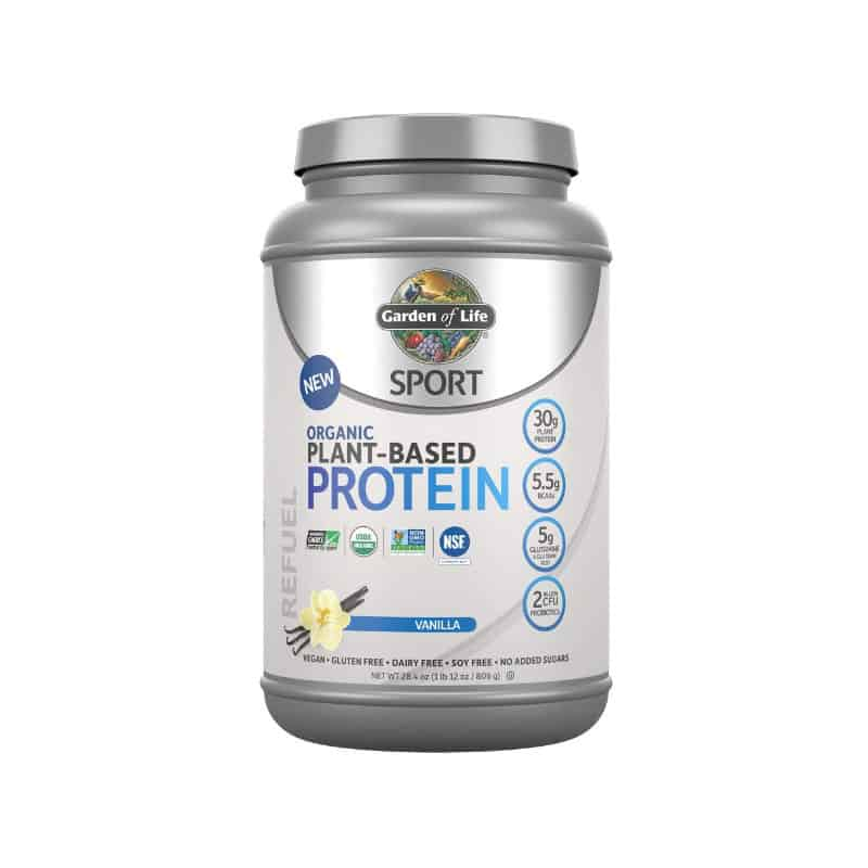 Garden of Life organic plant protein powder