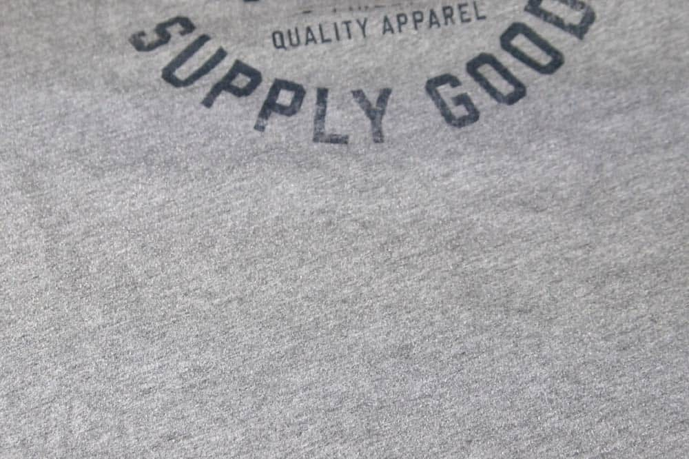 shirt with oil stains removed