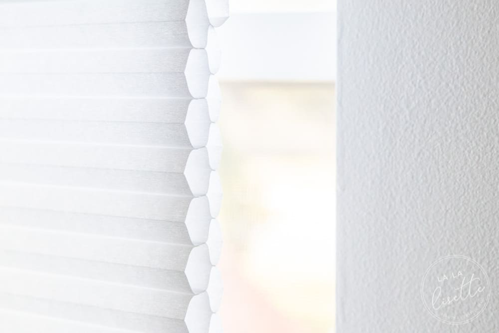 Graber energy efficient double cell cellular shades