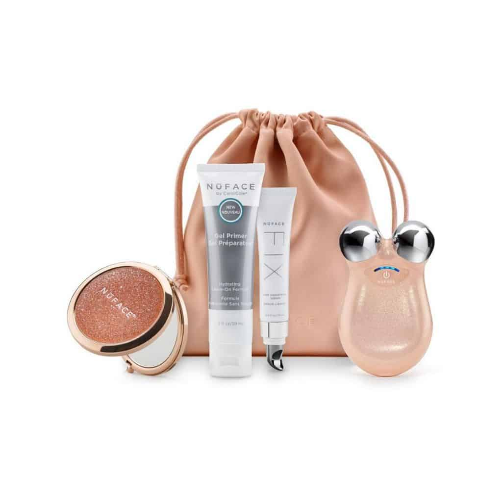 mini shimmer all night set by nuface