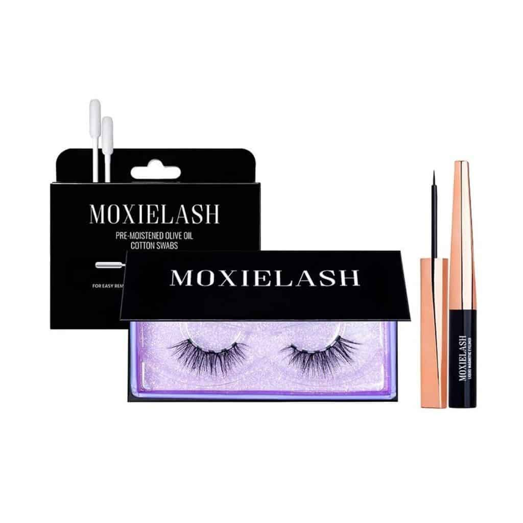 moxie lash starter kit with sassy lashes