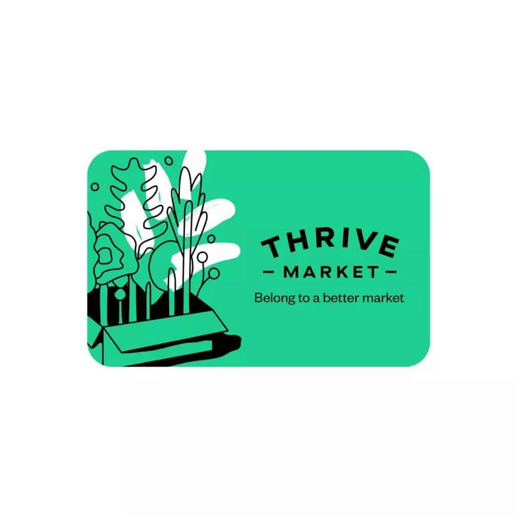 thrive market giftcard