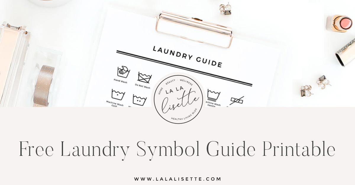 It is a photo of Printable Laundry Symbols regarding free printable guide