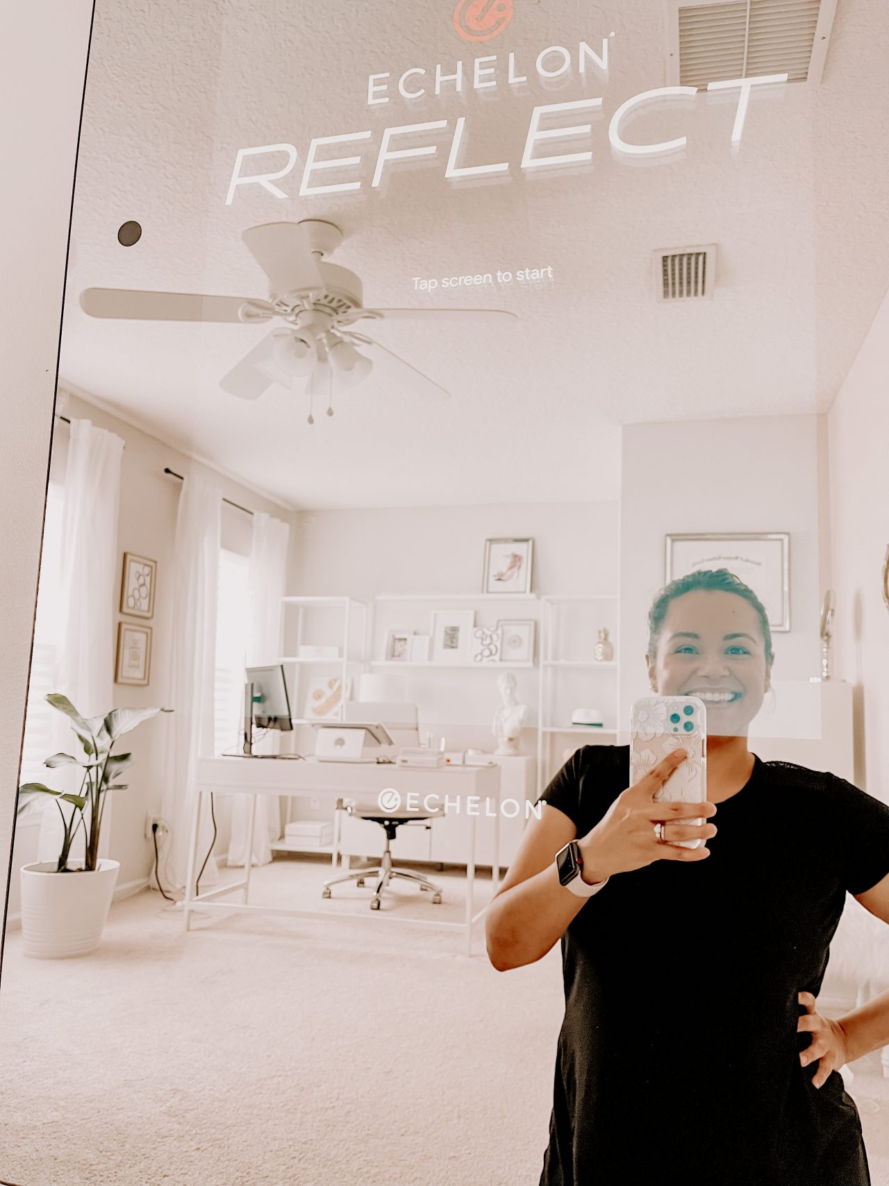 Lisette and Echelon Mirror